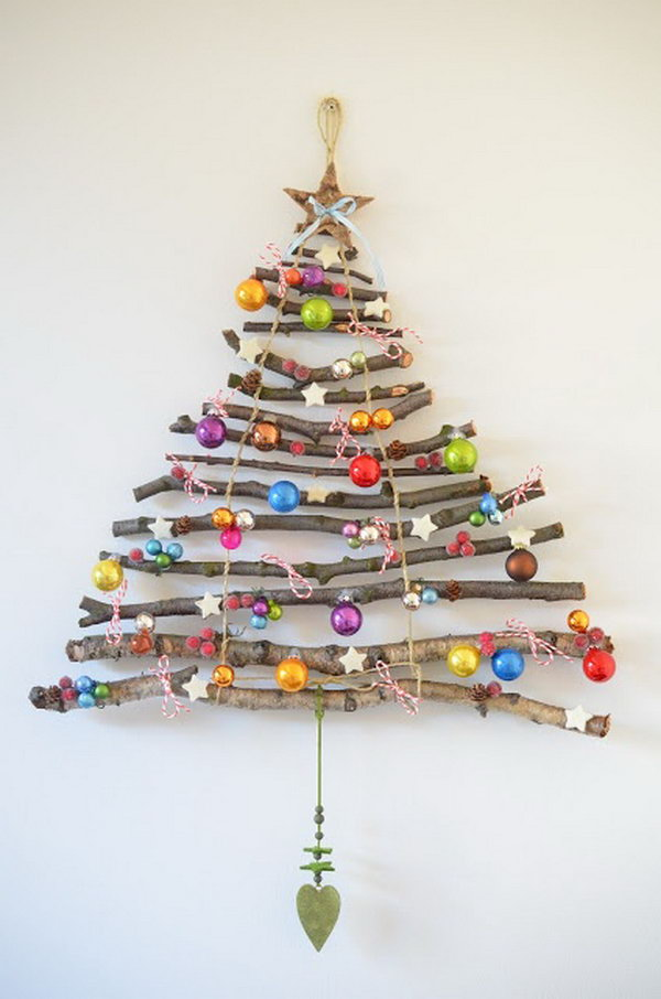 30 creative christmas tree decorating ideas Creative christmas decorations