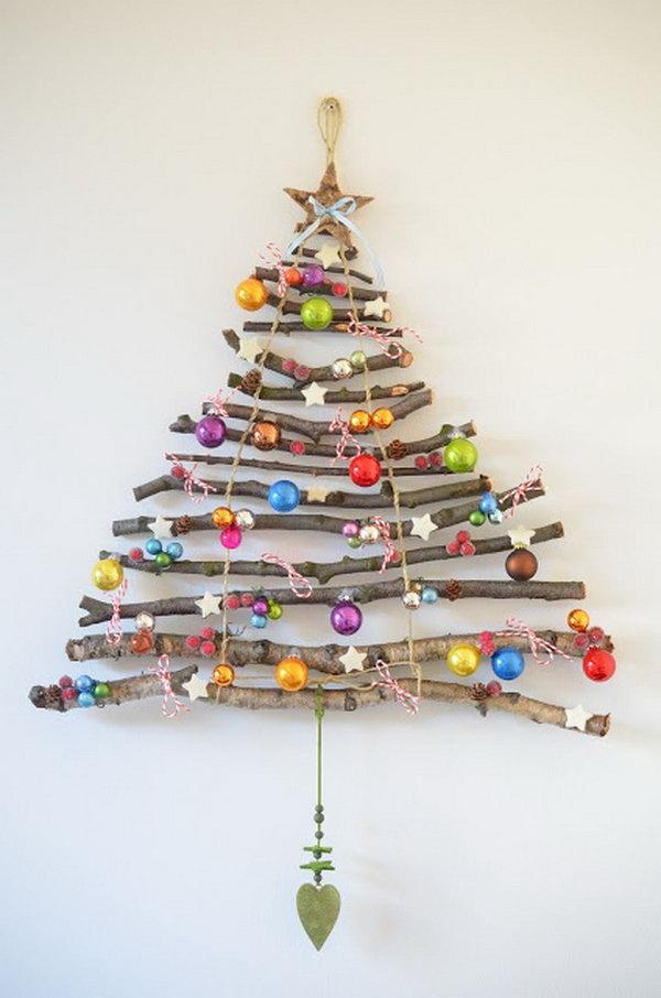 Árboles de navidad en madera o cartón para su hogar - Forestal Maderero