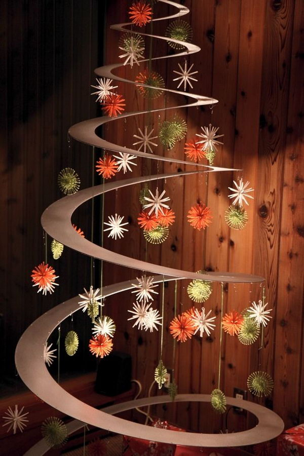 Creative Christmas Tree Decorating Ideas. Give You A Chance To Express Your  Creativity And It