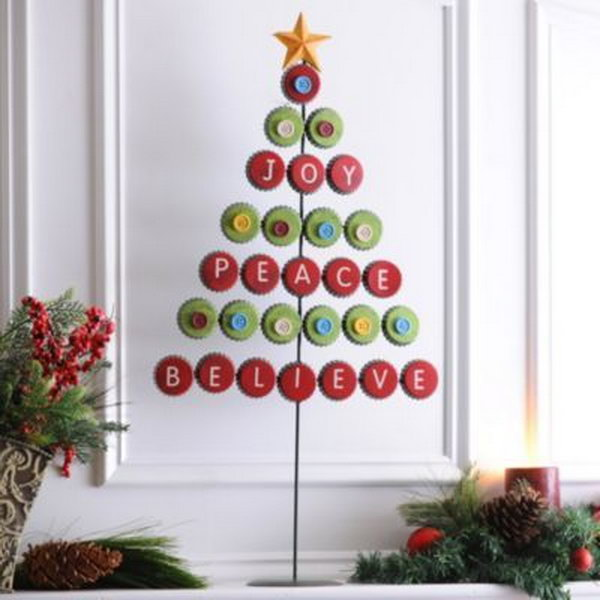 30 creative christmas tree decorating ideas Creative christmas trees to make