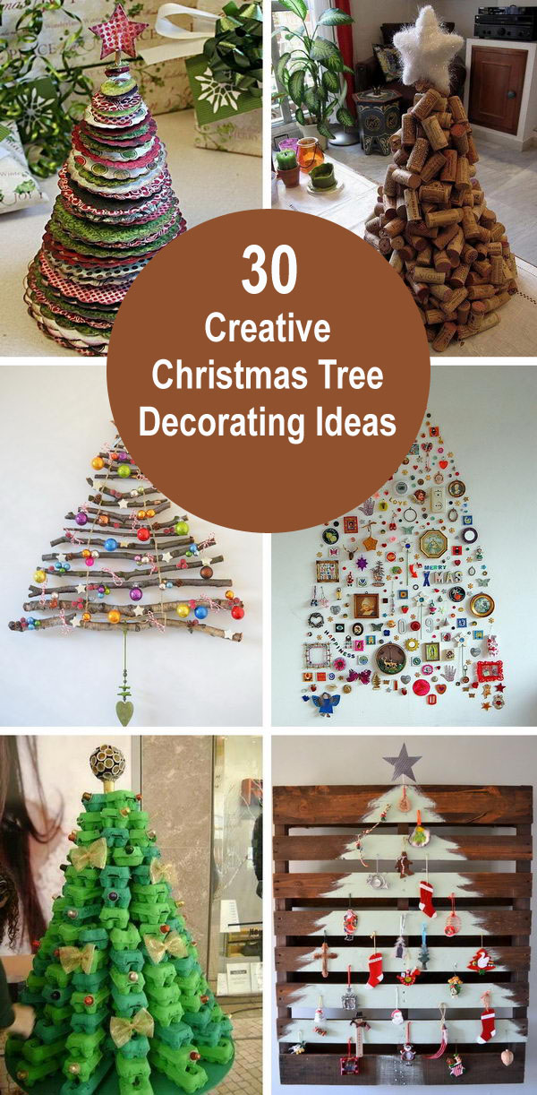 30 Creative Christmas Tree Decorating Ideas.