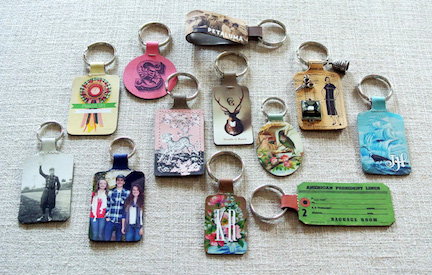 Personalized Keychains.