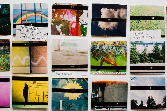 Magnetic Photo Calendar.