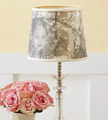 Photo Lampshade.