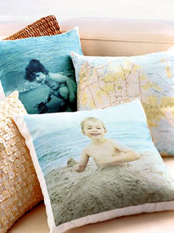 Photo Pillows.