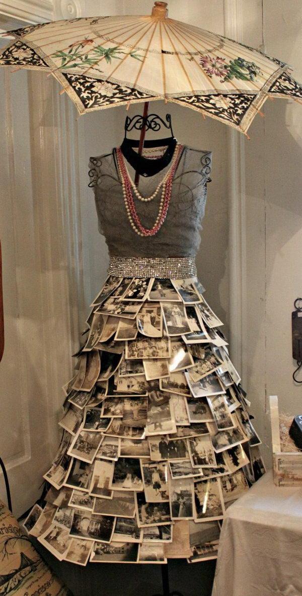 Vintage Photo Skirt.