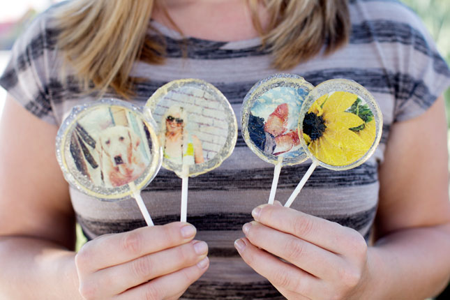 Photo Lollipops.