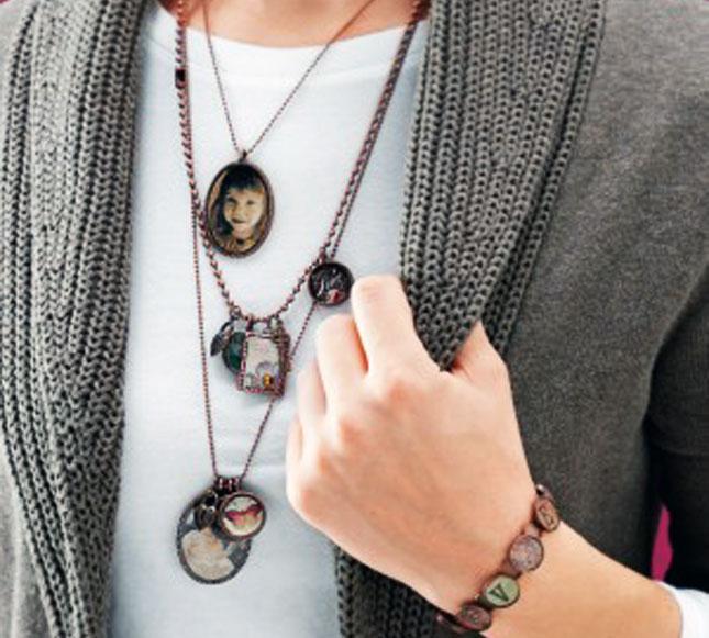 Photo Jewelry Necklace.