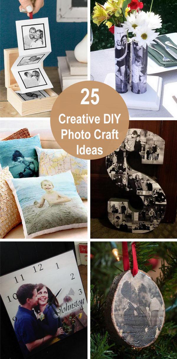 25 Creative DIY Photo Craft Ideas.
