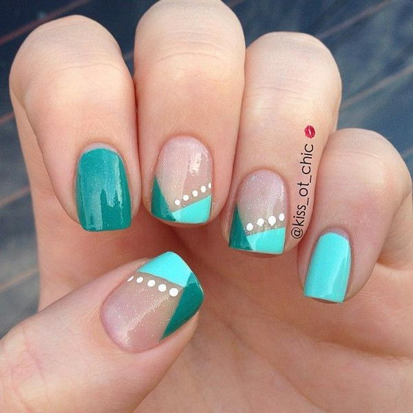 30 easy nail designs for beginners easy nail designs for beginners so cute and simple that you can do it yourself solutioingenieria Gallery