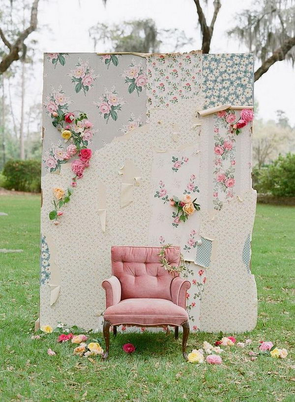 Creative Backdrop Ideas. Add depth to the photo and communicate additional detail about the scene, whether it's a wedding, a birthday party or some other festive celebration.