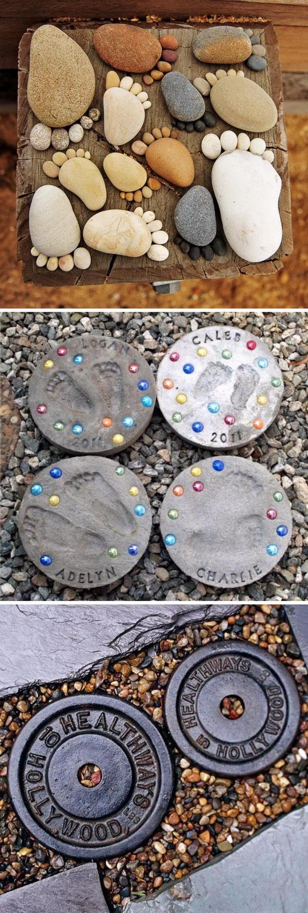 Creative Stepping Stone Ideas.