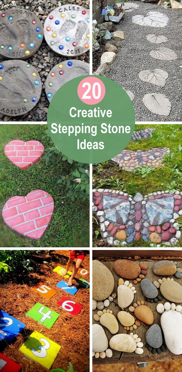 Creative Stepping Stone Ideas.