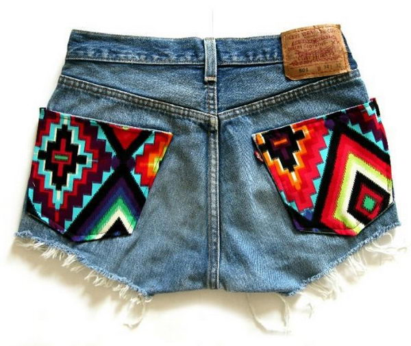 DIY Summer Shorts. Decorate your old shorts with colored ropes, wire, buttons or zippers, denim, sequins, silk and lace and what ever you like. It is fun and inspiring to make some creative shorts for yourself.