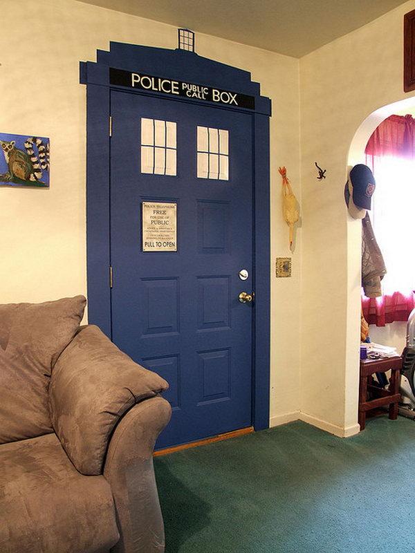 TARDIS door,