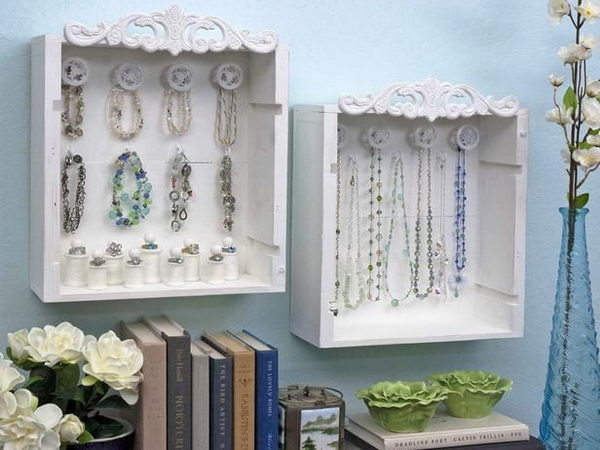 Wine Crate Jewelry Display Boxes.