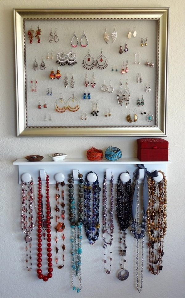 30 Creative Jewelry Storage Amp Display Ideas