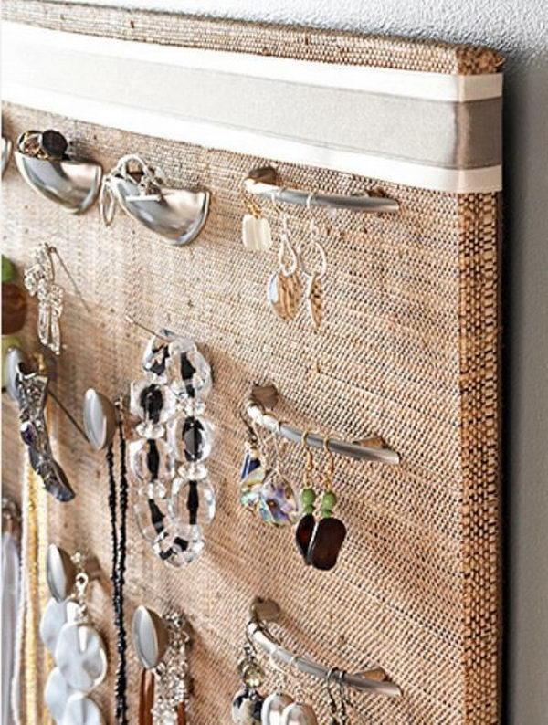 Drawer Pulls Wall Display.