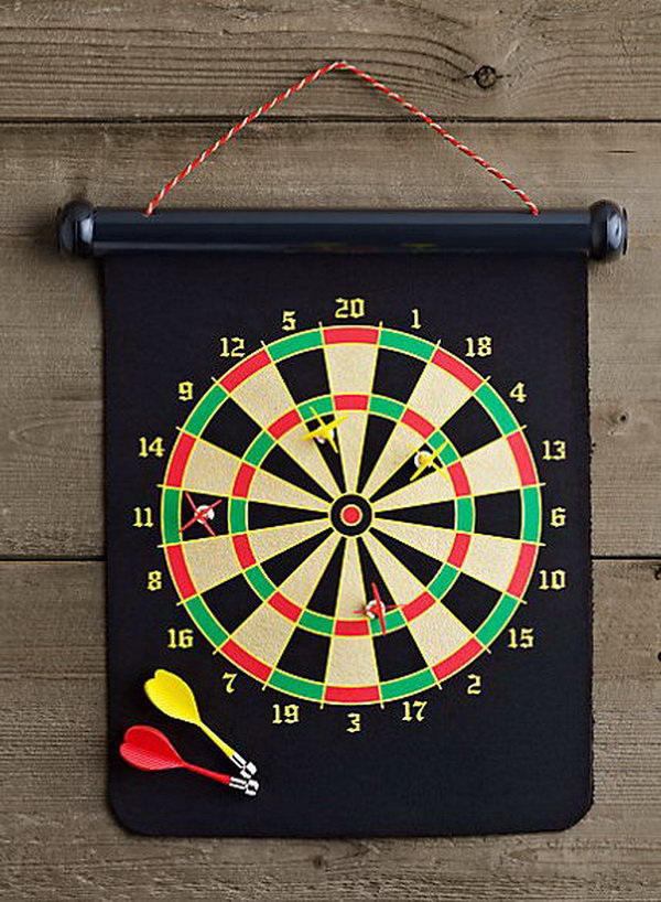 Magnetic Dart Board. What will you do when sitting around with your best guys? Drink a few and play with Magnetic Dart Board.