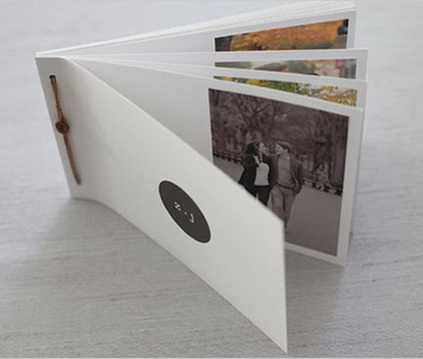 Photo Book. Pick a few great pictures of you and your good friends to create a distinctive photo book. The personalized book is a very special and meaningful present.
