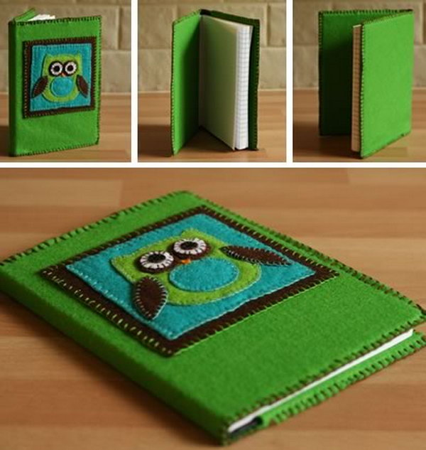 Creative Homemade Book Cover Ideas ~ Diy gift ideas for your friends