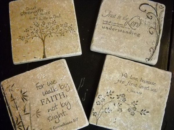 Personalized Gifts Made from Tiles.