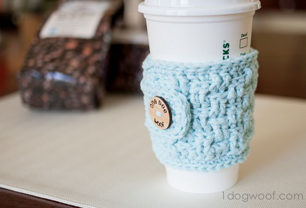 Cup Cozy. Make a simple cup cozy for your brother or boyfriend to keep him from burning his hands if coffee is his drink of choice. It is an economical and thoughtful present.