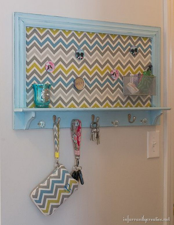 DIY Key Holder Rack.