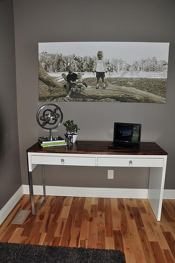 IKEA Desk Transformation.