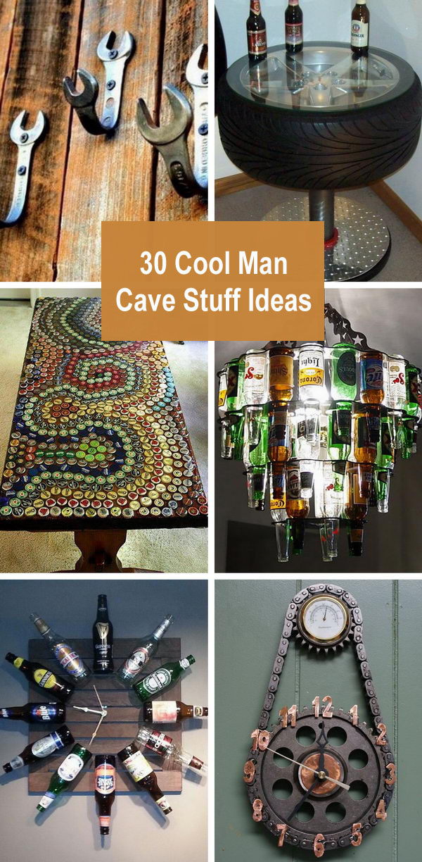 30 Cool Man Cave Stuff Ideas.
