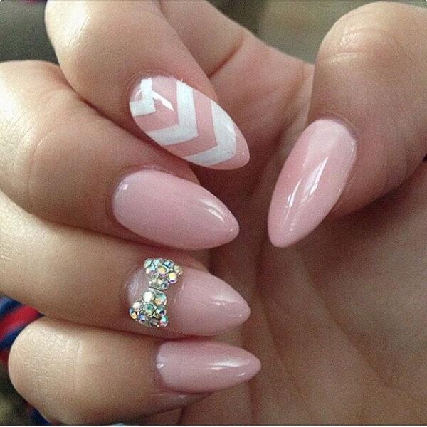 45 wonderful bow nail art designs