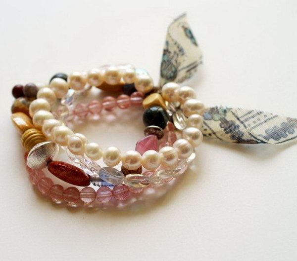 Willie Nillie Bracelet. See the tutorial