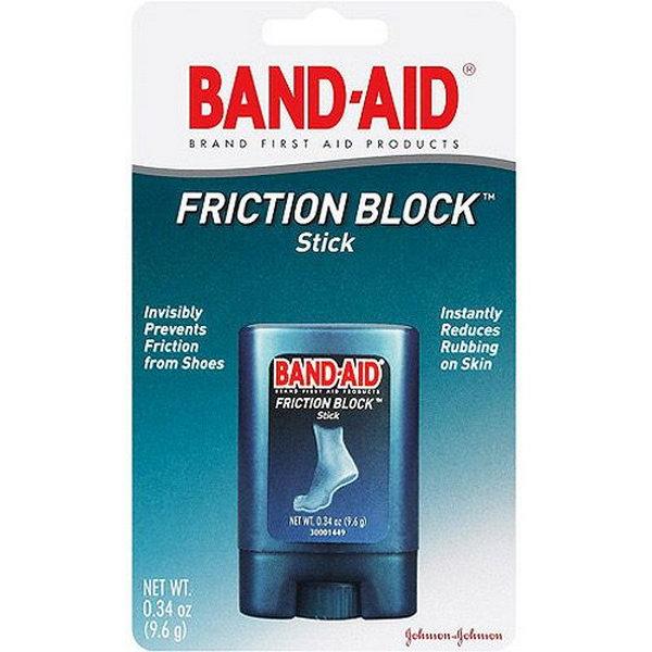 Use Bandaid Stick to Help Break in Heels