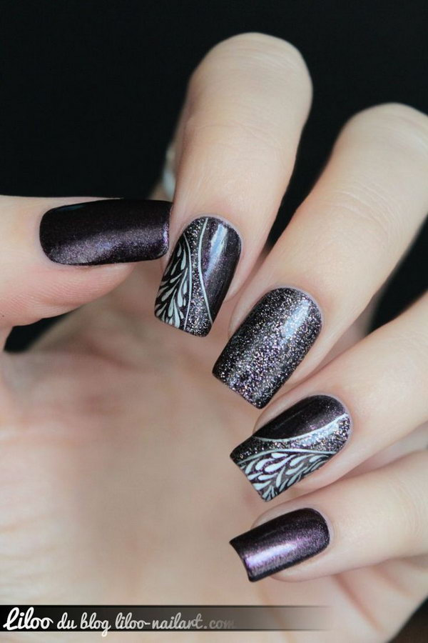 Art Designs: 30+ Trendy Purple Nail Art Designs You Have To See