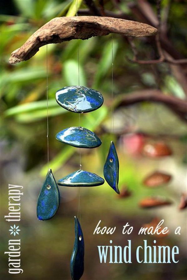 amazing diy wind chime ideas amp tutorials for your garden
