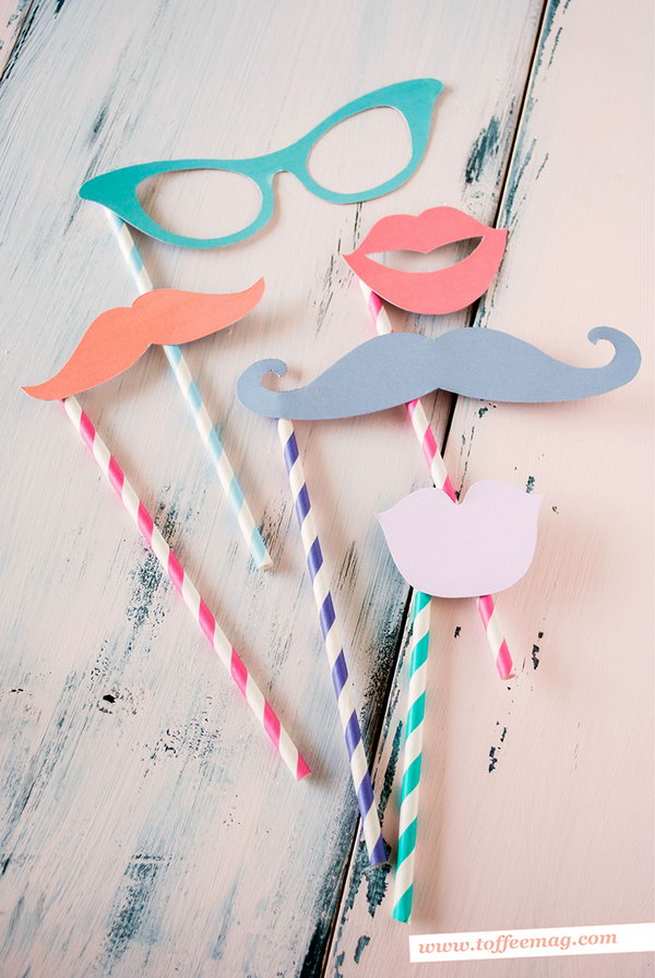 Photo Booth Props. See more details