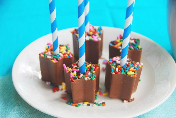 Hot Chocolate On a Stick. See more details
