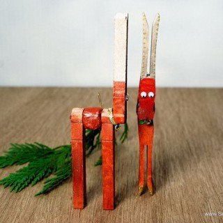 20 Cute Clothespin Crafts and Ideas