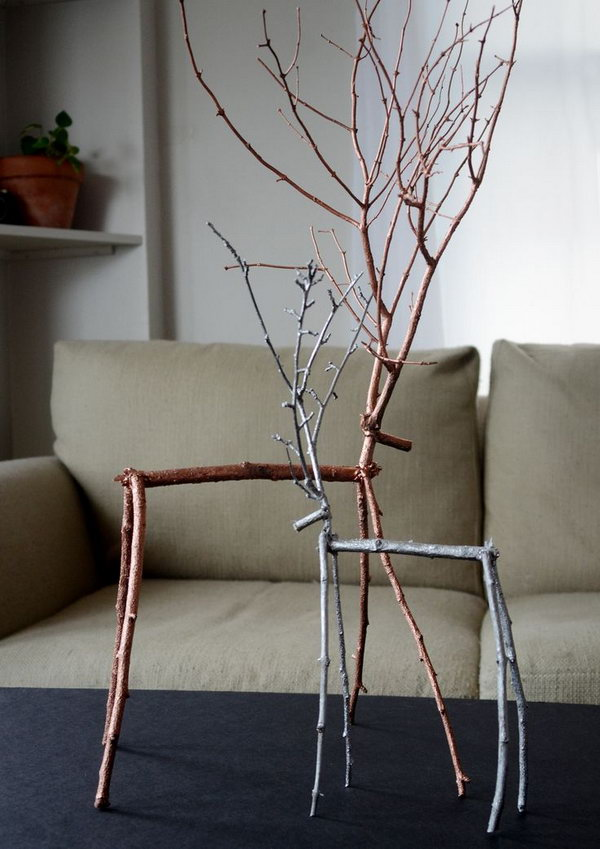 Diy Ideas With Twigs Or Tree Branches