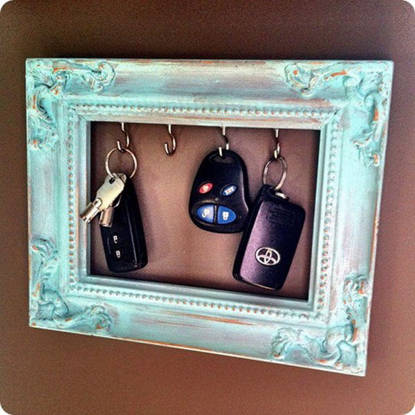 1 diy key holder ideas