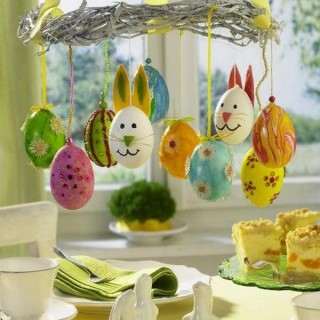 20 DIY Egg Decorating Ideas & Tutorials