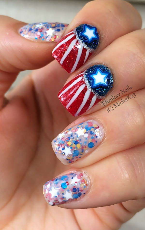 Th Of July Nail Designs Images