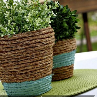 25 DIY Rope Craft Ideas
