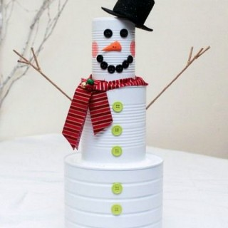 20 Recycled Tin Can Craft Ideas