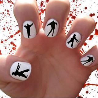 30 Cool Halloween Nail Art Ideas