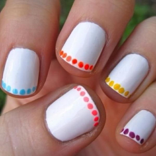 easy nail designs you can do at home best ideas bf551dea06976da125f6f86adc20fd50 - Cool Nail Design Ideas