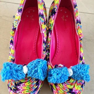 10+ Creative Rainbow Colored Shoes