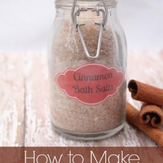 Homemade Bath Salt Recipes & Tutorials