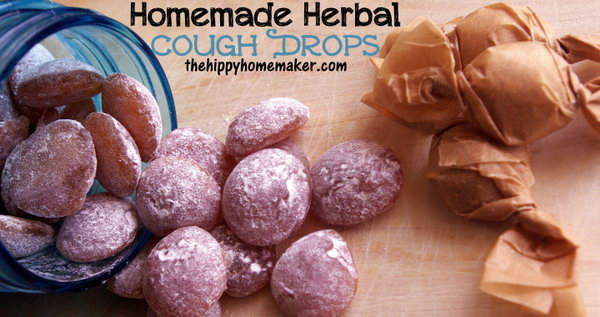 Homemade Red Clover Herbal Cough Drops. Red clover is known to help relieve chest congestion and inflamed throats. Get the recipe for this red clover herbal cough drops via