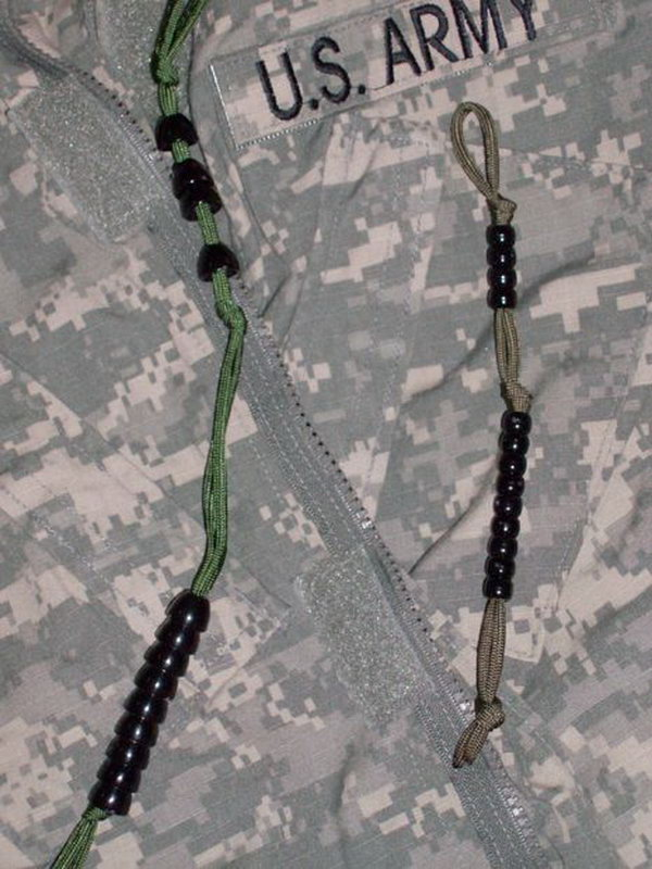 Army Ranger Pace Count  Beads